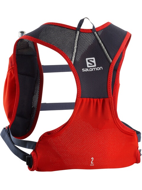 Salomon Agile 2 Vest Set Fiery Red/Graphite